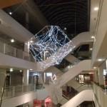 Kalėdinės dekoracijos konstrukcijos sutvirtinimas