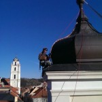 Žaibolaidis bažnyčiai